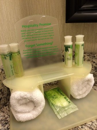 Holiday Inn Express Neptune: Toiletries