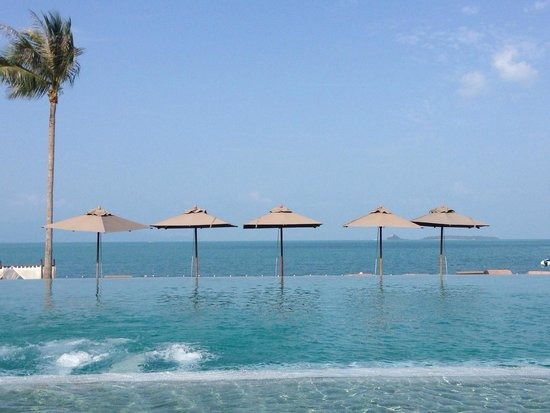 Hansar Samui Resort : Infinity pool