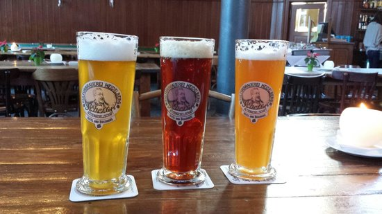 Kulturbrauerei: Their 3 beers. Pilsner, winter and heif.