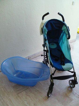 Barut Hemera : buggy & baby bath provided by hotel