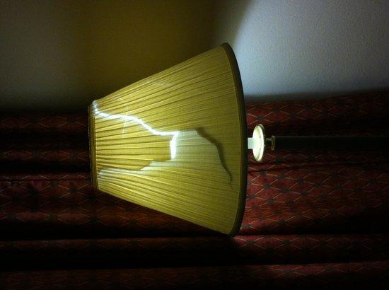 Travelodge Fredericksburg : Lampe