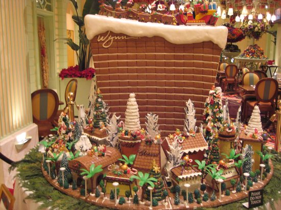 The Buffet at Wynn : Chocolate display they had for Christmas