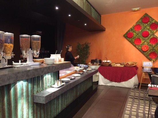 Hotel Le Panoramic : Petit déjeuner le matin