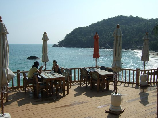 Crystal Bay Beach Resort: view from the dining area