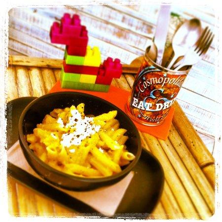COSMOPOLITAN, Eat & Drink, World Stile : Pumpkin & Feta Cheese Pasta!