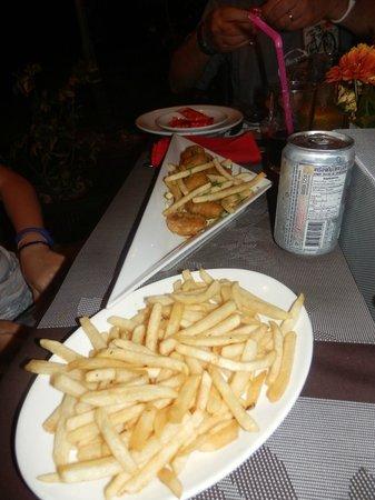 Gajanana/Dolce Vita Restaurant & Bar : repas enfant