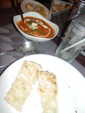 Gajanana/Dolce Vita Restaurant & Bar : plat indien