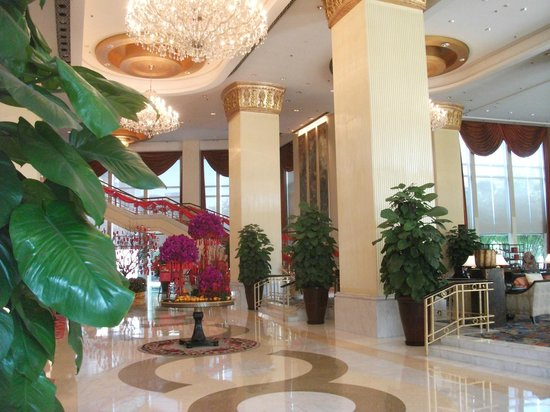 Shangri-La Hotel Fuzhou : Lobby
