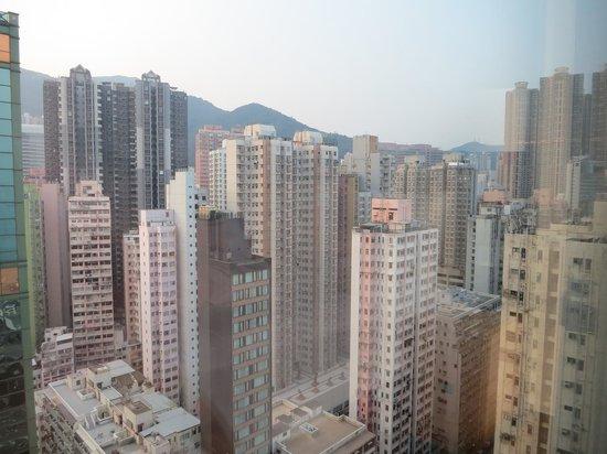 Courtyard Hong Kong: 街側の部屋 夜景がきれいでした