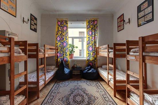 MIR Fontanka Hostel: Общий номер на 8 человек