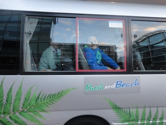 Bush and Beach: En partance pour Matamata et Hobbiton