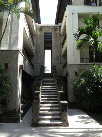 The Legian Bali : entrée