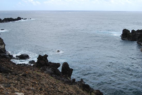 Ana Kai Tangata: The Pacific Ocean.