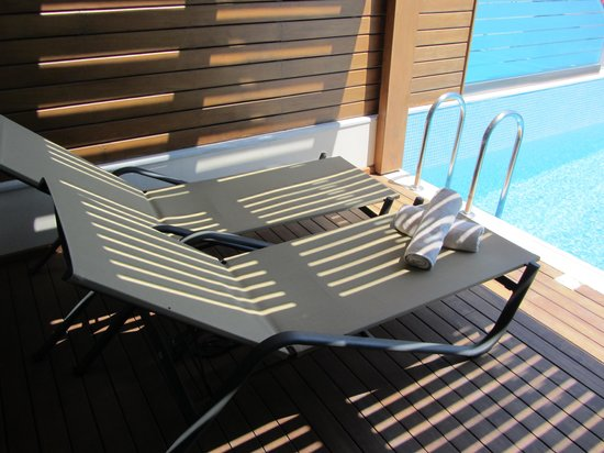 Boutique 5: Private Terrasse