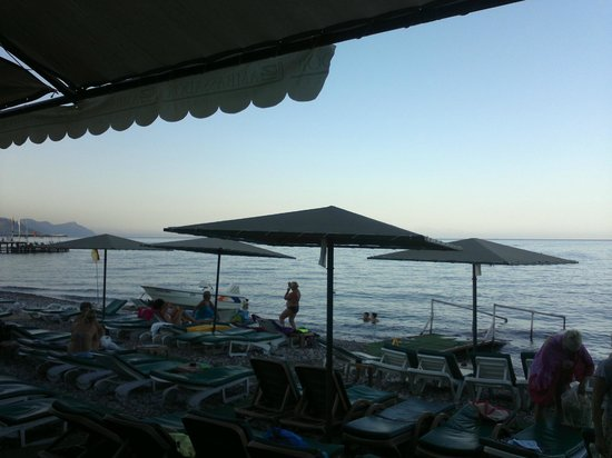 Ambassador Plaza Hotel : Пляж