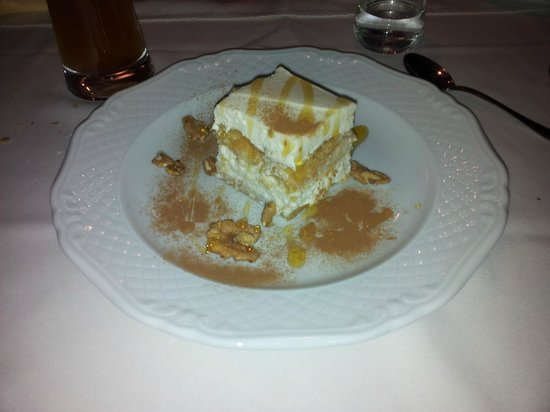 Hotel Gesser: Nice cakes