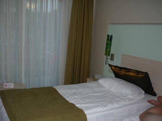 Ambassador Plaza Hotel : Кусочек номера