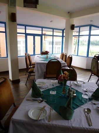 Pello Lake Resort: dining room