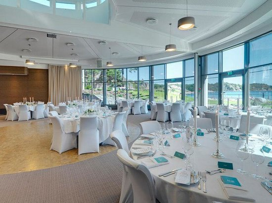 Strand Hotel Fevik : Restaurant Neptun