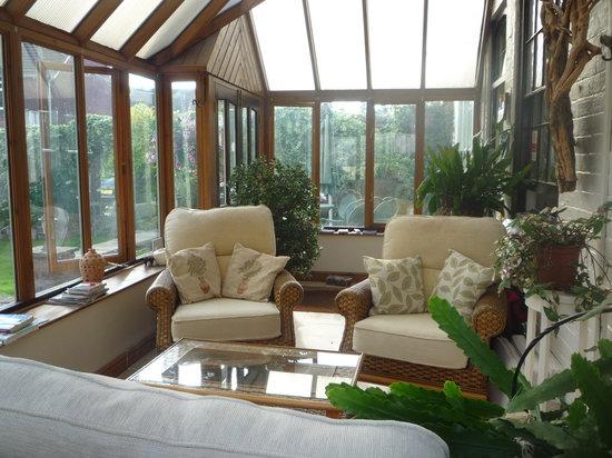 Henwick House: sunroom