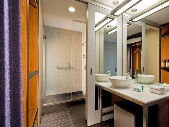 Aloft Jacksonville Tapestry Park : Guest Room Bathroom
