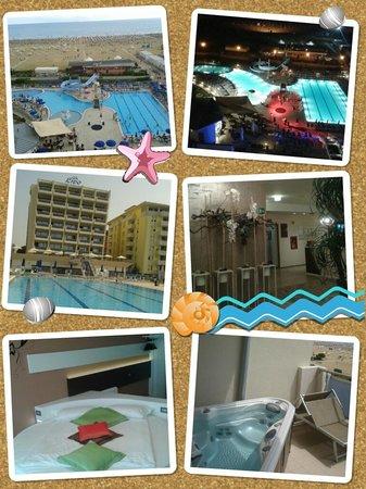 Hotel Lido Bibione Beach: Panoramica hotel
