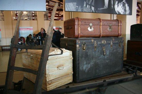 Ellis Island Immigration Museum : L'unica cosa che si poteva vedere