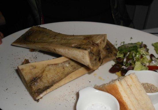 Brasserie Raymond: Bone marrow appetizer