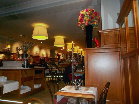 Interior of Brasserie Raymond