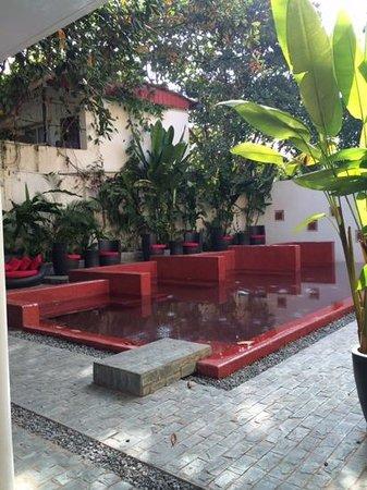 The Plantation - urban resort & spa: the red pool