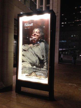 The Metropolitan Opera: Locandina Falstaff