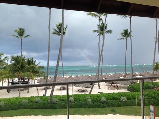 Secrets Royal Beach Punta Cana: rainbow!