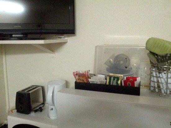 Avalon Motel : Kit per colazione..
