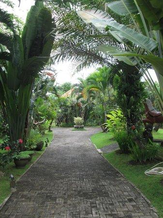 Fare Ti'i  (Villa Ti'i Bali): Grounds