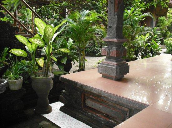 Suka Beach Inn: garden