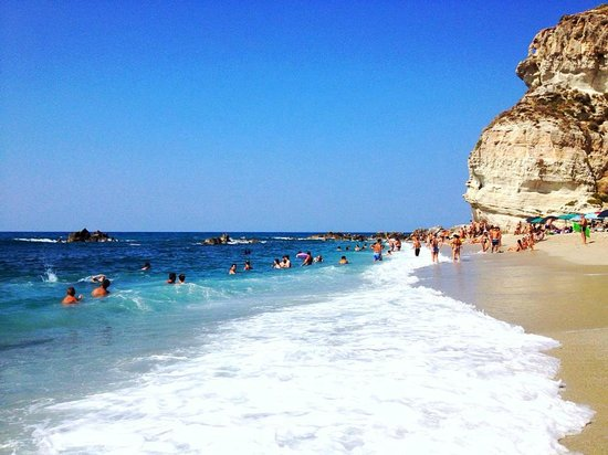 Capo Vaticano, Italia: La spiaggia