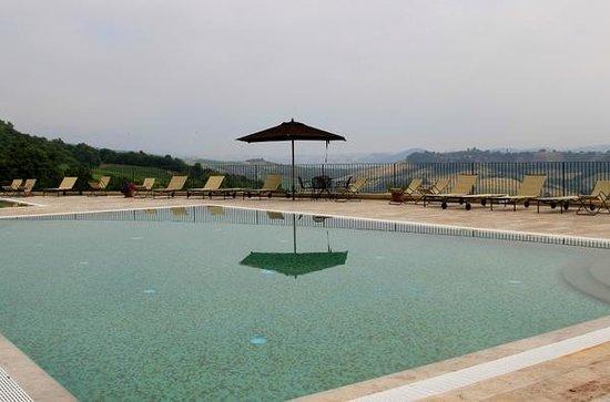 Vista dalla camera foto di altarocca wine resort orvieto tripadvisor for Hotels in orvieto with swimming pool