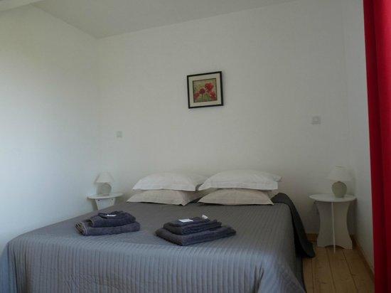 Breuil la Reorte, Γαλλία: chambre Coquelicot chambre familiale