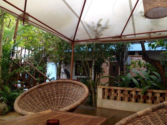 Pousada Manaca Inn: Area comune