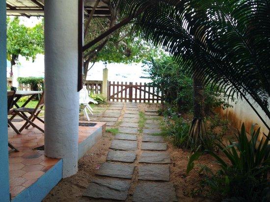 Pousada Manaca Inn: Ingresso