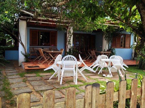 Pousada Manaca Inn: Colazione area