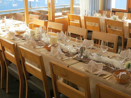 Restaurant Luegibrüggli: Liebevoll gedeckt