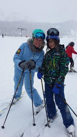 Elite Alpine Lodge: Eskimo's best instructor! Joanna:)