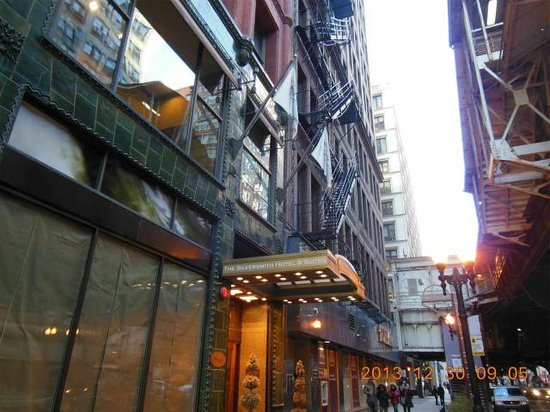 Silversmith Hotel Chicago Downtown: 入口