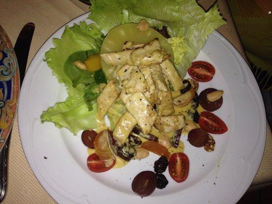 Monte Christo : Салат куриный. Обалденно вкусный