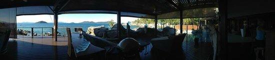 East Bedarra Island Retreat: The porch. Amazing.