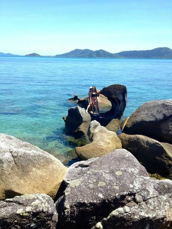 East Bedarra Island Retreat: The view.