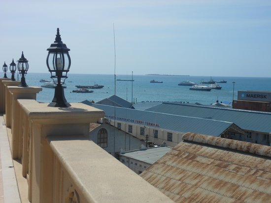 Zanzibar Grand Palace Hotel: View from rooftop