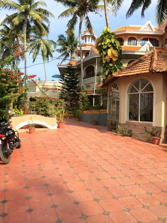 Thiruvambadi Beach Retreat: entrance