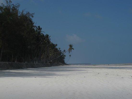 Makuti Beach Hotel: Stranden en bit bort